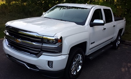 Paint Protection Films on Chevy Truck